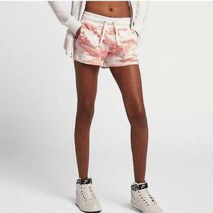 Nike Sportswear Gym Vintage Pink Camo Shorts NWT